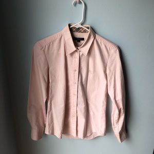 Women's burberry button down